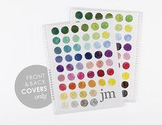 Erin Condren watercolor - palette - covers
