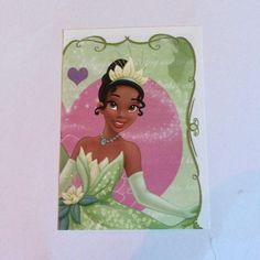 Disney princess panini sticker card new #140