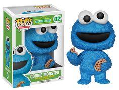 Funko - Figurita Sesame Street - Cookie Monster Pop 10cm - 0849803049133: Amazon.es: Juguetes y juegos