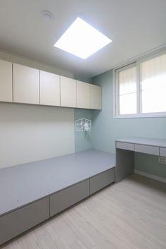 Apartment Interior, Room Interior, Space Saving Bedroom, Minimalist Bed, Maids Room, Small Condo, Bedroom Decor For Teen Girls, Ideas Hogar, Teenage Room