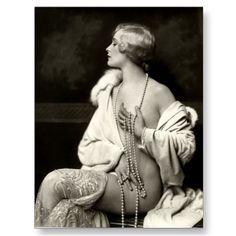 KRW Daring Darling Vintage Risque Photo Postcard by krwpinup