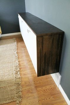 Fauxdenza Crendenza Ikea Hacker Covered All In Wood And New S Wall Cabinets