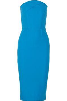 Roland Mouret|Electra stretch-cotton dress|NET-A-PORTER.COM