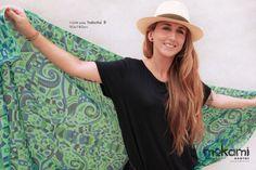 "35"" X 70"" #women #shawl // 100% #silk - #HABOTAI8 // #giftsforher // #Wearable-#Art #scarf by #mokami on #Etsy #peoplemakeetsy #BestEstyPhoto"
