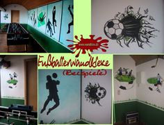 Fußball - Wandmalereien von wandklex / soccer murals by wandklex