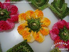 Caminho de Mesa em Crochê Encantos da Natureza - Tapetes e Toalhas - Aprendendo Croche