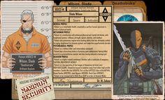 Arkham Files - Deathstroke by Roysovitch on DeviantArt