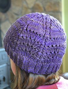 Ravelry: Wavy Diamond Hat pattern by Amy Grace size youth-adult