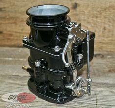 Genuine Stromberg 97 Black Chrome Carburetor Ford Flathead Rat Hot Rod Vtg Style | eBay