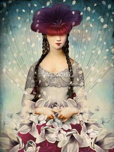 """""""Binding Flowers"""" Picture by Catrin Welz-Stein posters, art prints, canvas prints, greeting cards or gallery prints. Find more Picture art prints and posters in the ARTFLAKES shop. Frames On Wall, Framed Wall Art, Wall Art Prints, Surrealism Painting, Pop Surrealism, Collage Artists, Arte Pop, Wassily Kandinsky, Art Plastique"""