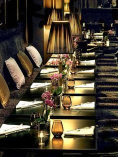 The Westin Paris Vendôme - Le First, restaurant boudoir à Paris.
