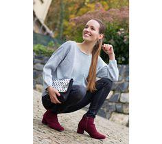 Kotníkové botky s podšívkou a zapínáním na zip | modino.cz #modino_cz #modino_style #style #fashion #newseason #autumn #fall Zip, Sweatshirts, Sweaters, Fashion, Moda, Fashion Styles, Trainers, Sweater, Sweatshirt