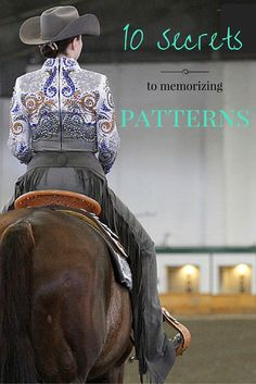 Exhibitors share their best-kept secrets for memorizing patterns for horsemanship, showmanship and trail at horse shows.