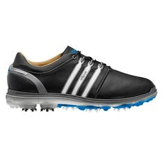 Adidas Men's Pure 360 / White/ Samba Blue Golf Shoes