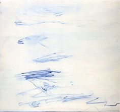 Cy Twombly, Poems to the Sea.