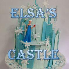 Frozen Cake - Elsa's Castle (How to make)