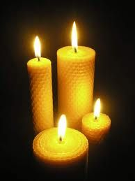 Beeswax Candle's  So many more benefits than yucky paraffin scented one's.