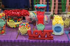 Mendhi Bash - Candy table #candytable