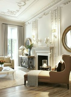Plaster Ceiling Design + Architectural Mouldings - laurel home | photo by Andrew Twort