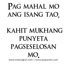 Selos Quotes Tagalog
