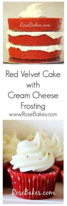Red Velvet Cake with Cream Cheese Frosting Recipes