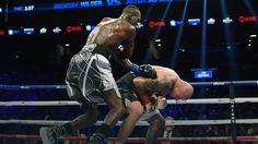Deontay Wilder ciężko znokautował Artura Szpilkę i obronił pas mistrza świata