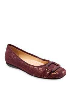 Trotters Red Sizzle Ballet Flat