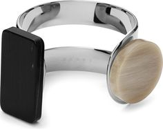 Marni Silver-Toned Horn Cuff - for Women