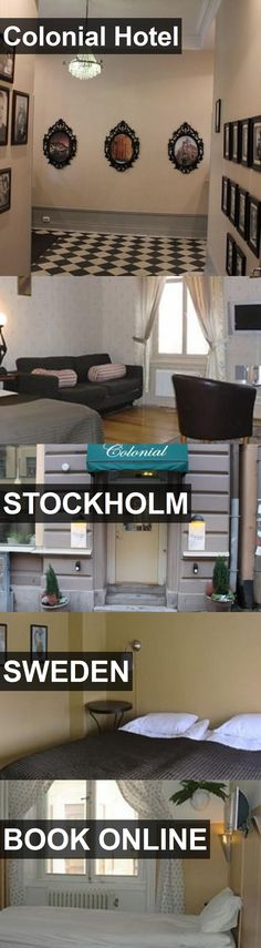 Colonial Hotel in Stockholm, Sweden. For more information, photos, reviews and best prices please follow the link. #Sweden #Stockholm #travel #vacation #hotel