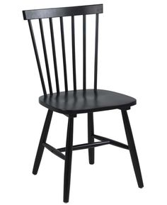 Esbjerg spisebordsstol - Sort Dining Chairs, Bar, Interior, Design, Furniture, Home Decor, Products, Kitchen, Types Of Wood