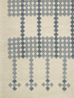 FOUNTAINE BLEAU rug (detail) by Doug + Gene Meyer for Holland & Sherry