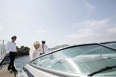 Angela & Den-Joe planned their dream destination wedding on Valentia Island, one of the most westerly points off the Iveragh Peninsula in the south-wes Speed Boats, Our Wedding Day, West Coast, Real Weddings, Ireland, Destination Wedding, Den, Beautiful, Fast Boats