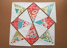 Whirling Quilt Block Tutorial