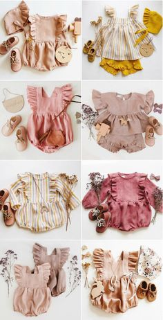 Baby clothes should be selected according to what? How to wash baby clothes? What should be considered when choosing baby clothes in shopping? Baby clothes should be selected according to … Cute Baby Girl, Baby Love, Cute Babies, Baby Girl Dresses, Baby Dress, Girl Outfits, Baby Girl Romper, Fashion Outfits, Ruffle Dress