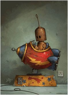 Matt Dixon | @ar It's like Machinarium!