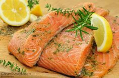 Citrus Salmon with White Wine in crockpot