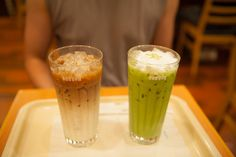 Iced Coffee and Green Tea Shake by thenomsters, via Flickr