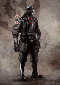 Wolfenstein: The New Order Villains Concept Art - Lightning Gaming News Camilla Luddington Tomb Raider, Twilight Princess, Armor Concept, Concept Art, Cthulhu, Character Concept, Character Art, Overwatch, Wolfenstein The New Order