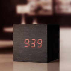 Click Cube Clocks from Firebox.com
