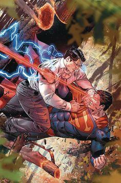DC Rebirth-Superman vs. Clark Kent