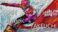 おめでとうございます!!!、スノボー・パラレル大回転・シルバーメダル「竹内智香選手」の絵を描きました。  Se Eu Não Te Amasse Tanto Assim (ao Vivo) http://youtu.be/nOXHtXOwa2s