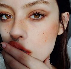 Image de girl, eyes, and piercing