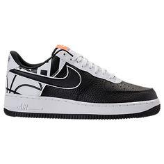 Nike Air Force 1 Black/White Pinterest Nike air force, Air force