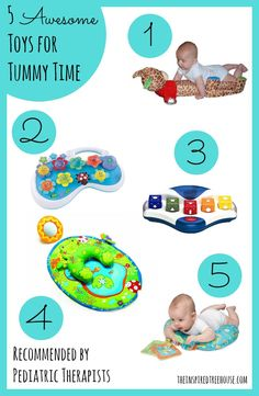 Many children in physical and occupational therapy don't spend enough time on their tummies as babies. Tummy Time is unbelievably important in supporting healthy child development, read on to find out why!