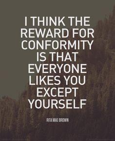 #conformity #quote