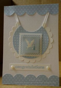 Stampin' & Scrappin' with Stasia: Baby Boy Card