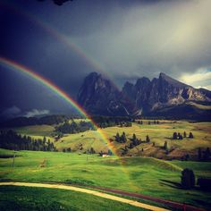 La quiete dopo la tempesta #adlermountainlodge #adlersparesorts #estate #altoadige #vacanze #alpedisiusi #dolomiti