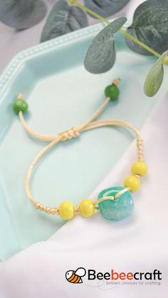 Diy Bracelets Patterns, Diy Friendship Bracelets Patterns, Diy Bracelets Easy, Beaded Jewelry Patterns, Handmade Bracelets, Handmade Wire Jewelry, Diy Crafts Jewelry, Bracelet Crafts, Bracelet Tutorial