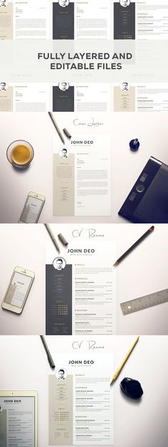 69 best Simple Resume Templates images on Pinterest in 2018 Cv