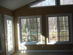 Interior of 4 season room